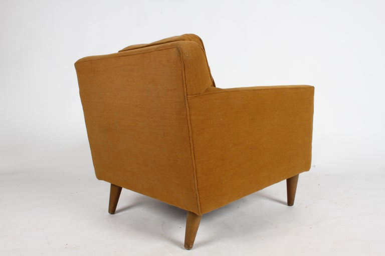Edward J. Wormley for Dunbar Club Chair In Good Condition For Sale In St. Louis, MO
