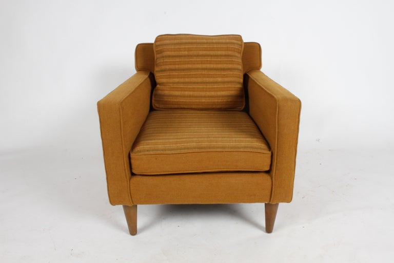 Mid-20th Century Edward J. Wormley for Dunbar Club Chair For Sale