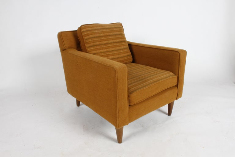 Mid-Century Modern Edward J. Wormley for Dunbar Club Chair For Sale