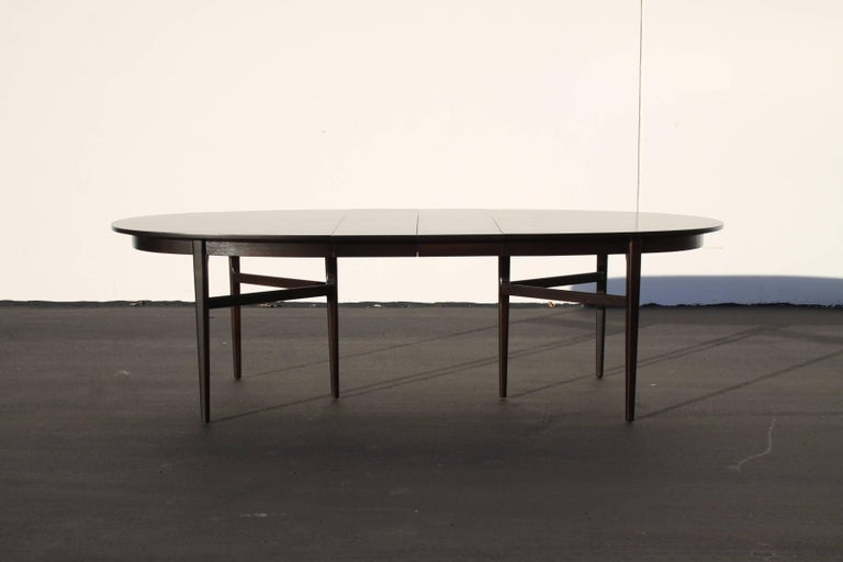 Beautiful RomWeber Oval Mid-Century Dining Table For Sale 1