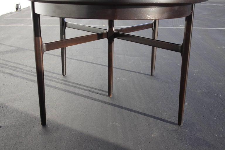 Beautiful RomWeber Oval Mid-Century Dining Table 5
