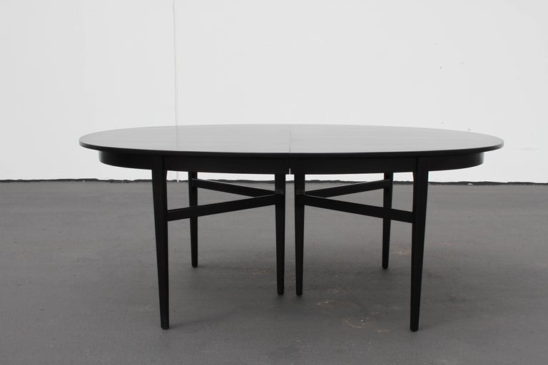 Danish Modern Style RomWeber Oval Mid-Century Dining Table For Sale 1