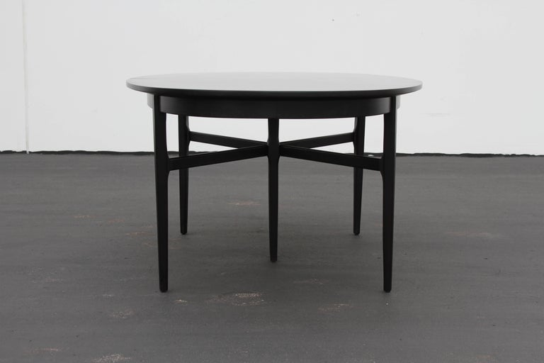 Danish Modern Style RomWeber Oval Mid-Century Dining Table For Sale 5