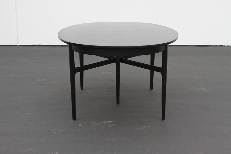 Danish Modern Style RomWeber Oval Mid-Century Dining Table For Sale 6