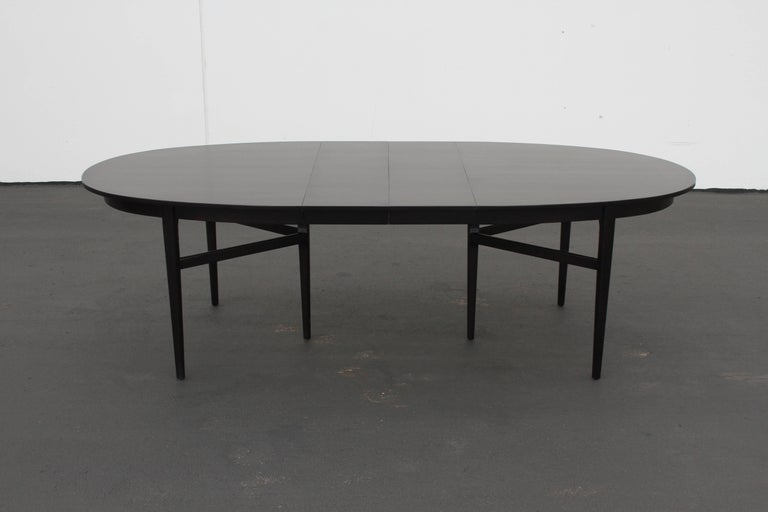 Danish Modern Style RomWeber Oval Mid-Century Dining Table For Sale 10