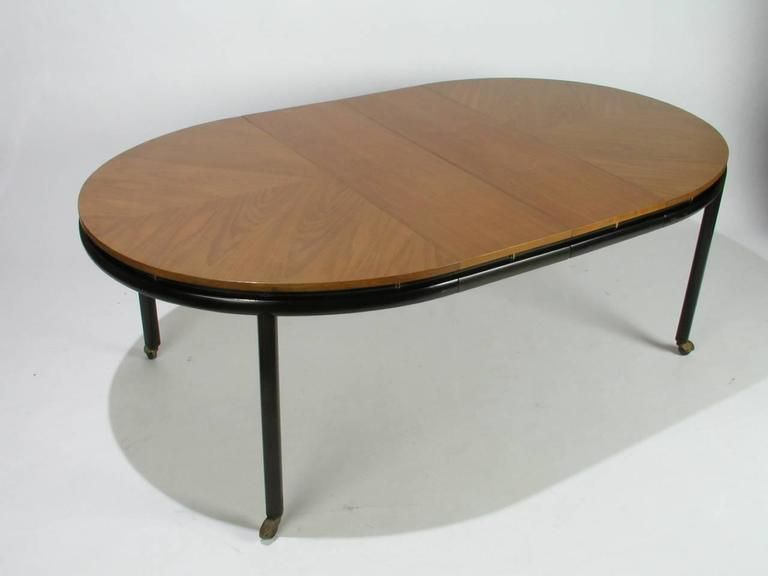 Mid Century Modern Baker New World Collection Oval Dining Table By Winsor  White U0026 Michael
