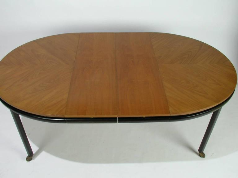 American Baker New World Collection Oval Dining Table by Winsor White & Michael Taylor For Sale