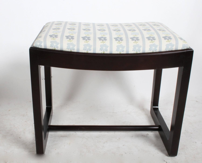 Edward Wormley Precedent Collection Vanity Bench, Circa