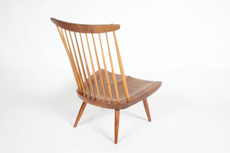 American George Nakashima New Lounge Chair, Studio Crafted for Architect Phillip Cotton For Sale