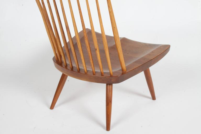 George Nakashima New Lounge Chair, Studio Crafted for Architect Phillip Cotton 5