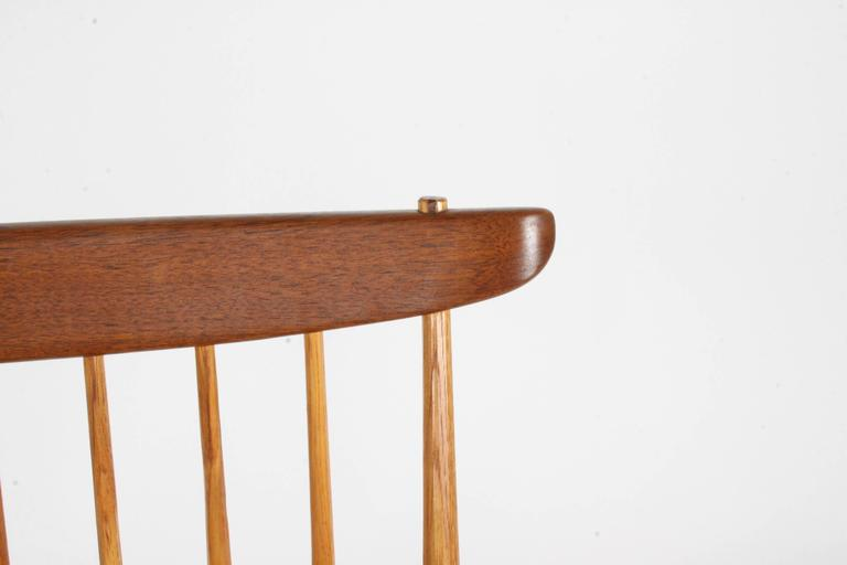 George Nakashima New Lounge Chair, Studio Crafted for Architect Phillip Cotton For Sale 2