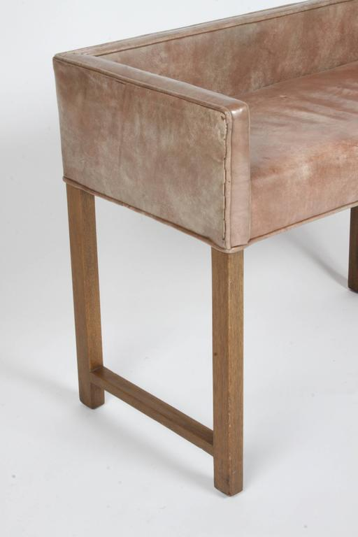 Edward Wormley for Dunbar Vanity Stool or Bench For Sale 4
