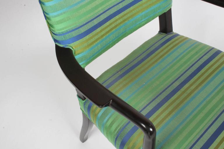 Mahogany Edward Wormley for Dunbar Single Dining or Desk Chair For Sale
