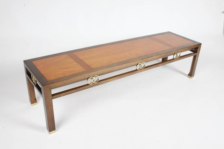 Mid Century Modern Michael Taylor For Baker Coffee Table   Far East  Collection For Sale