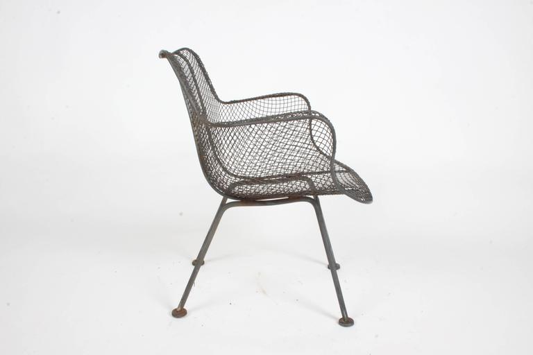 Russell Woodard Low Lounge Patio Chairs Sculptura Line At