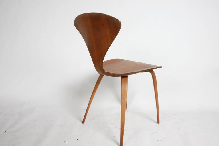 norman cherner side chair by bernado for plycraft 2