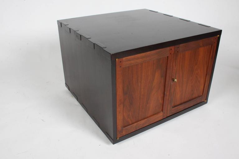Edward Wormley for Dunbar Rare Janus Cabinet in the Style of Greene & Greene For Sale 3