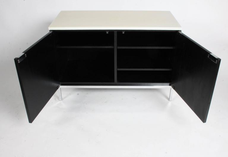 Florence Knoll Credenza Marble Top Ebony Stain 7