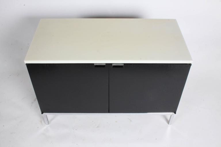 Florence Knoll Credenza Marble Top Ebony Stain 8