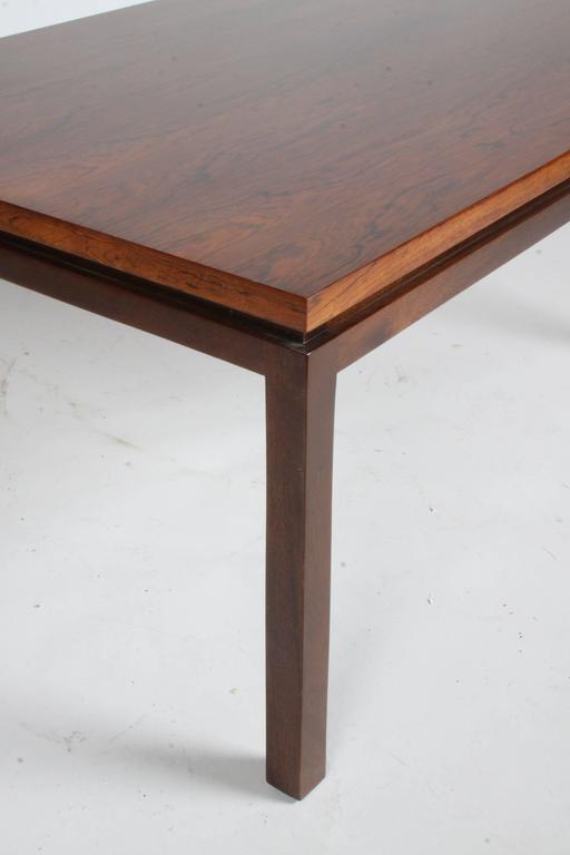 Harvey Probber Rosewood Coffee Table 3