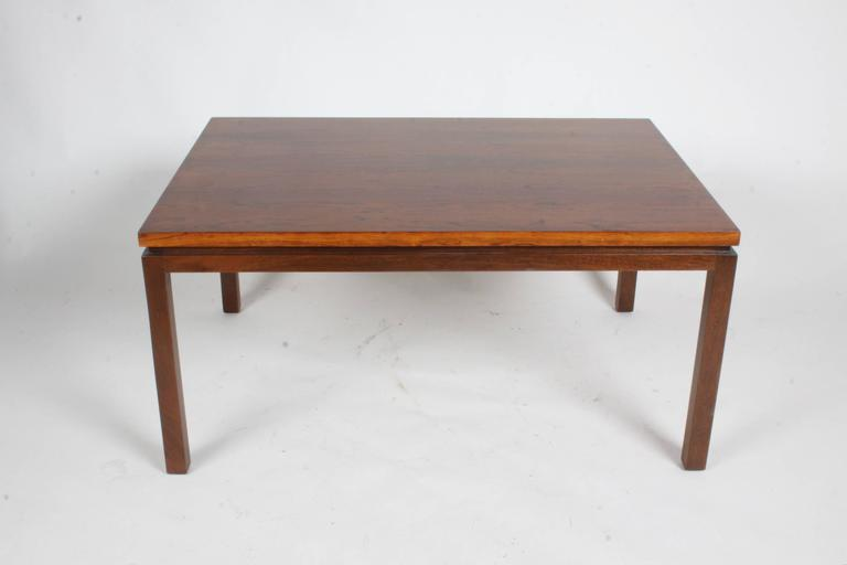 Harvey Probber Rosewood Coffee Table 7