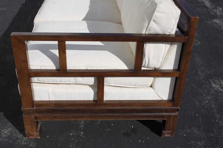 Michael Taylor Sofa for Baker Far East Collection, circa 1950s For Sale 2