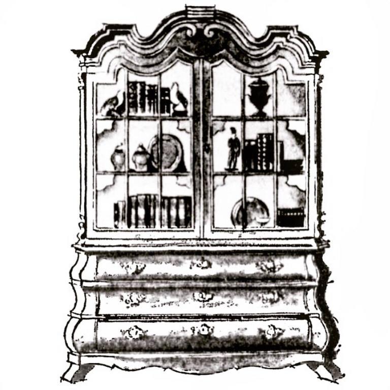 Dorothy Draper Viennese Collection Cabinet for Henredon, circa 1963 2