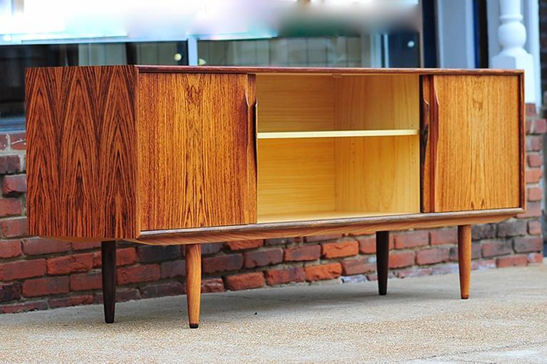 Gunni Omann Rosewood Sideboard or Credenza, Danish Modern For Sale 1