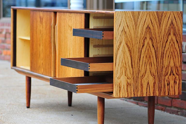 Gunni Omann Rosewood Sideboard or Credenza, Danish Modern For Sale 2