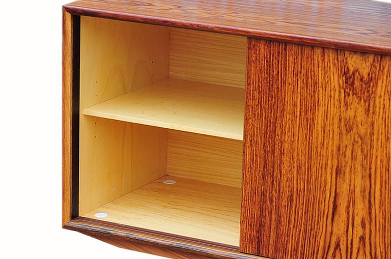 Gunni Omann Rosewood Sideboard or Credenza, Danish Modern For Sale 3
