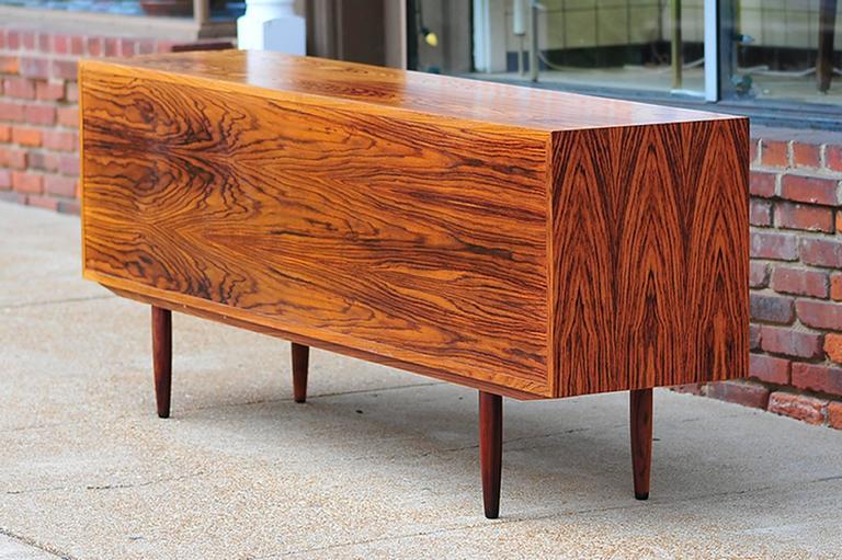 Gunni Omann Rosewood Sideboard or Credenza, Danish Modern For Sale 4