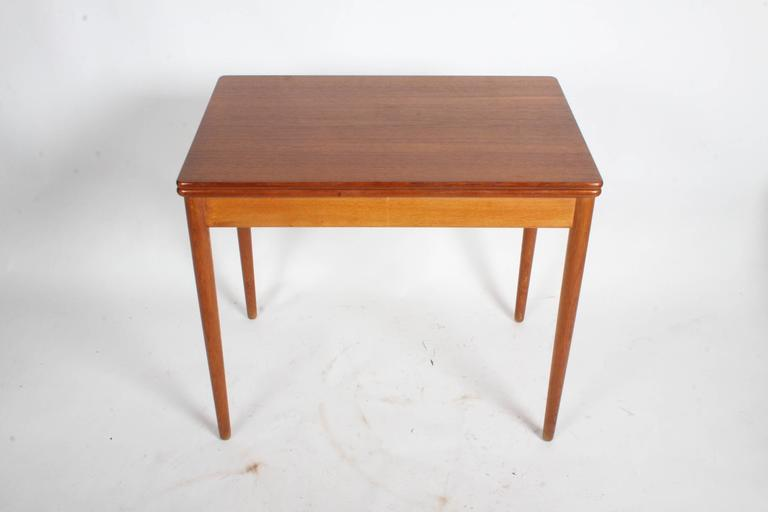 Danish Hans J. Wegner Flip Top Table or Desk, Andreas Tuck, Denmark For Sale