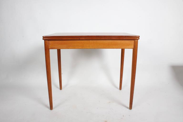 Mid-Century Modern Hans J. Wegner Flip Top Table or Desk, Andreas Tuck, Denmark For Sale