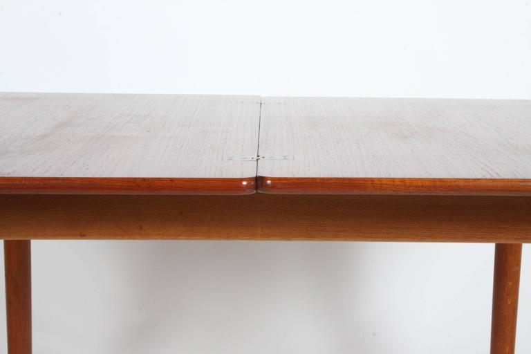 Hans J. Wegner Flip Top Table or Desk, Andreas Tuck, Denmark In Excellent Condition For Sale In St. Louis, MO