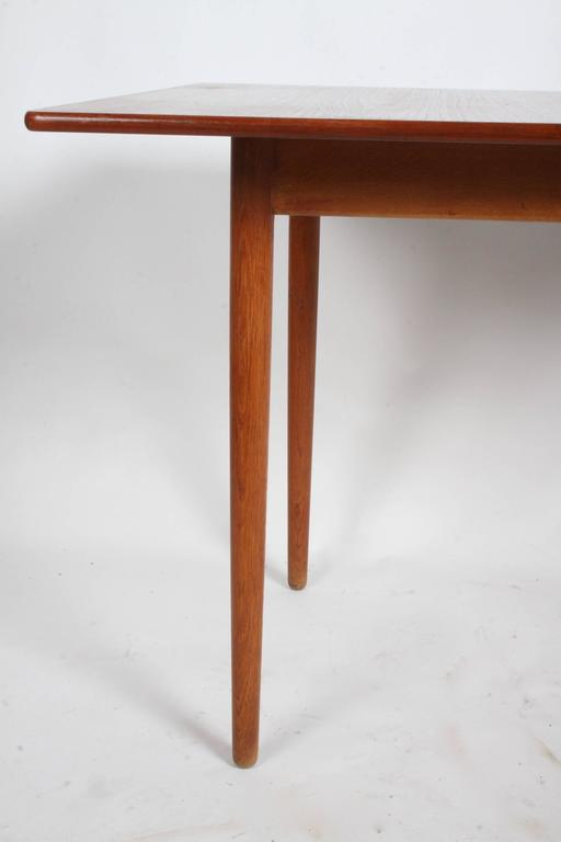 Mid-20th Century Hans J. Wegner Flip Top Table or Desk, Andreas Tuck, Denmark For Sale