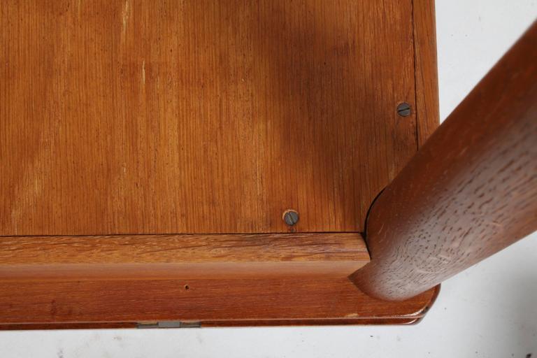Hans J. Wegner Flip Top Table or Desk, Andreas Tuck, Denmark 7