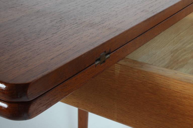 Hans J. Wegner Flip Top Table or Desk, Andreas Tuck, Denmark 8