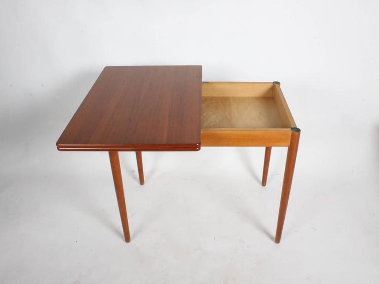 Hans J. Wegner Flip Top Table or Desk, Andreas Tuck, Denmark For Sale 3