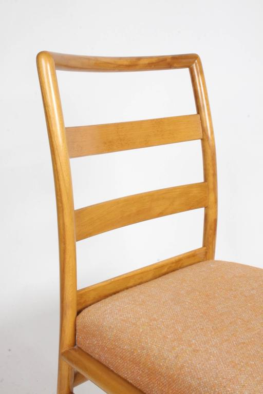 Mid-Century Modern T.H. Robsjohn-Gibbings Single Ladder Back Dining or Desk Chair For Sale