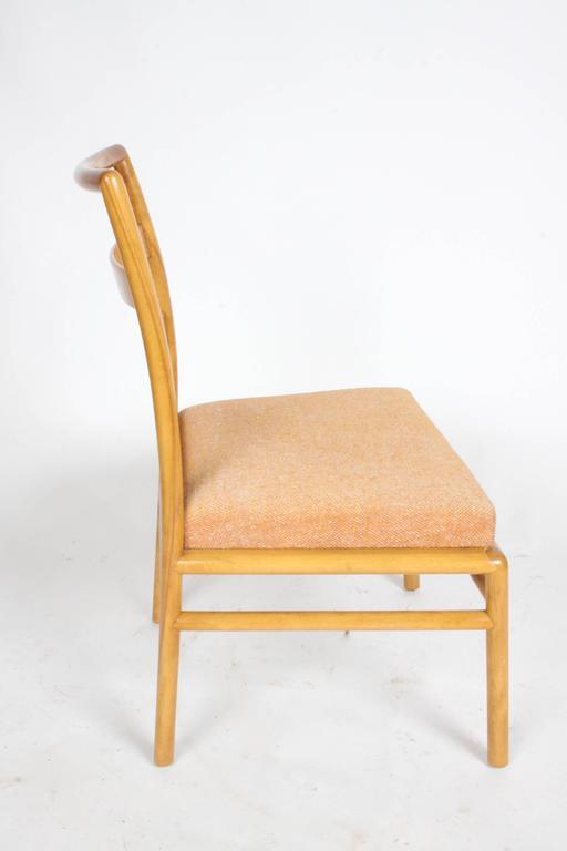 American T.H. Robsjohn-Gibbings Single Ladder Back Dining or Desk Chair For Sale