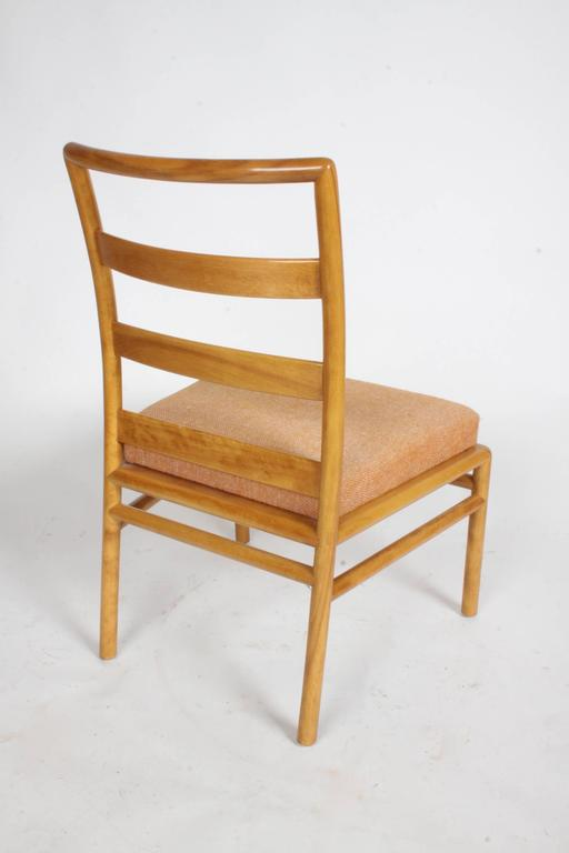 T.H. Robsjohn-Gibbings Single Ladder Back Dining or Desk Chair In Good Condition For Sale In St. Louis, MO