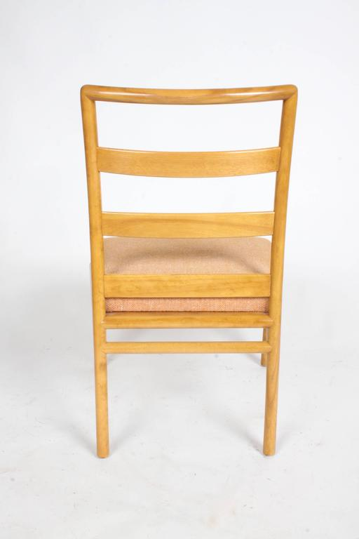 Mid-20th Century T.H. Robsjohn-Gibbings Single Ladder Back Dining or Desk Chair For Sale