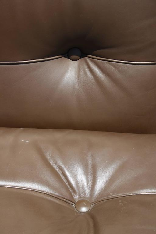 Mario Bellini Leather Lounge Chairs for B&B Italia For Sale 1