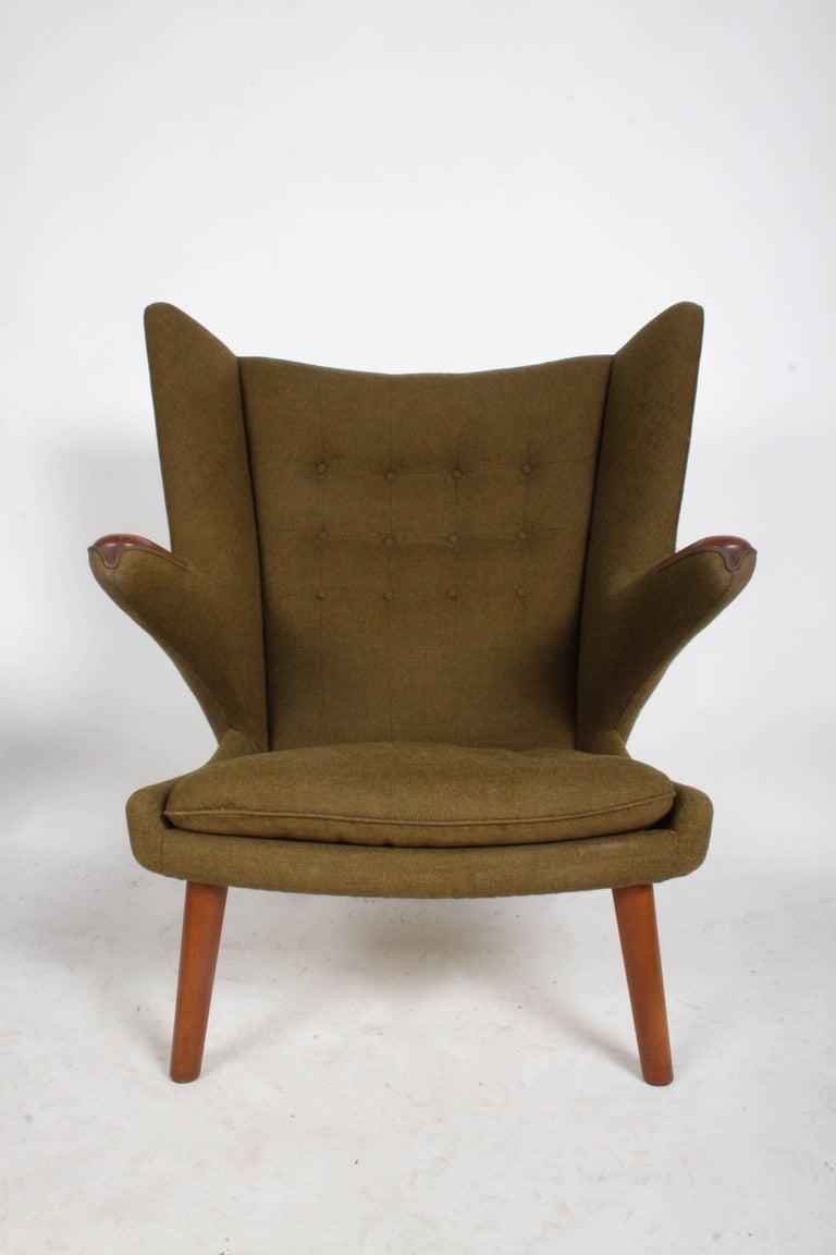 Fantastic Hans J Wegner Papa Bear Easy Chair By Ap Stolen Ibusinesslaw Wood Chair Design Ideas Ibusinesslaworg