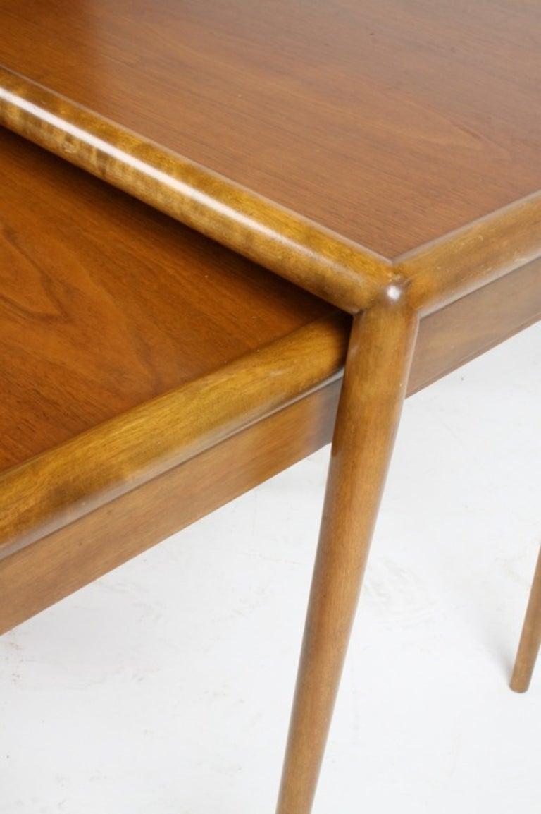 T. H. Robsjohn-Gibbings for Widdicomb Nesting Tables For Sale 1