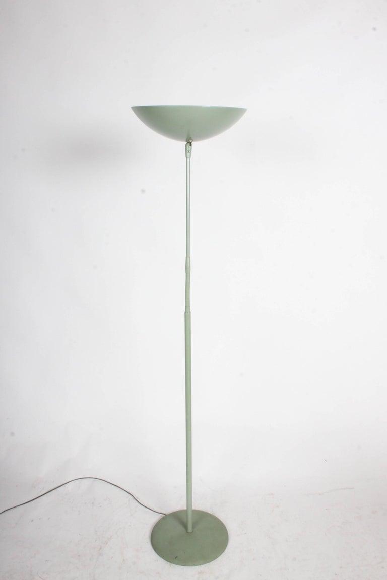 Kurt Versen Gooseneck Adjustable Floor Lamp  For Sale 1