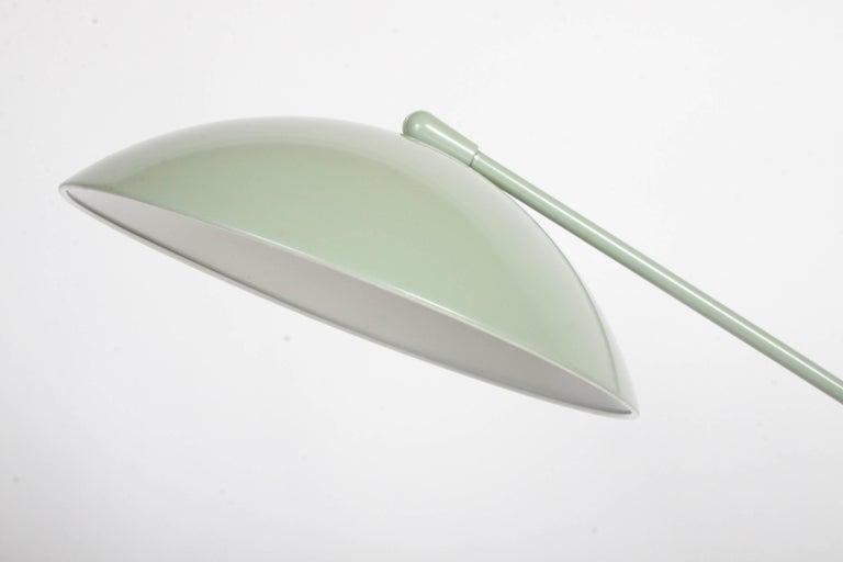 Mid-Century Modern Kurt Versen Gooseneck Adjustable Floor Lamp  For Sale