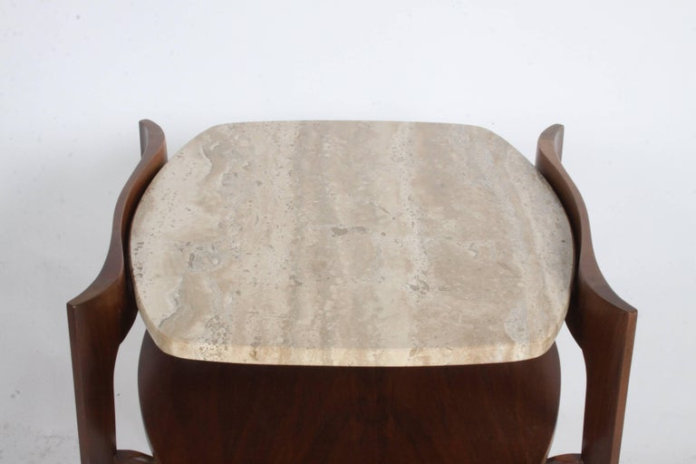 Mid-20th Century Pair of Bertha Schaefer Italian End Tables For Sale