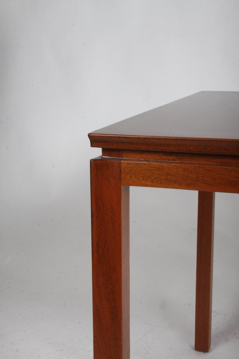 Edward Wormley for Dunbar Mahogany Game Table, Restored 3