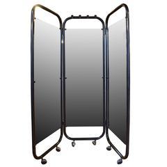 Light-Up Folding Dressing Mirror